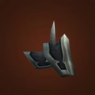Black Dragonscale Shoulders Model