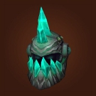 Dragon Bone Warhelm, Earthen Helmet, Earthen Faceguard Model