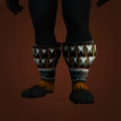 Scorpashi Slippers, Chieftain's Boots, Pridelord Boots Model