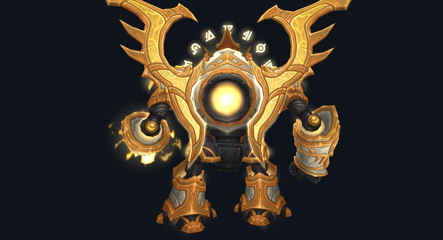 Lightforged Warframe Mount