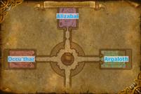 Baradin Hold Map