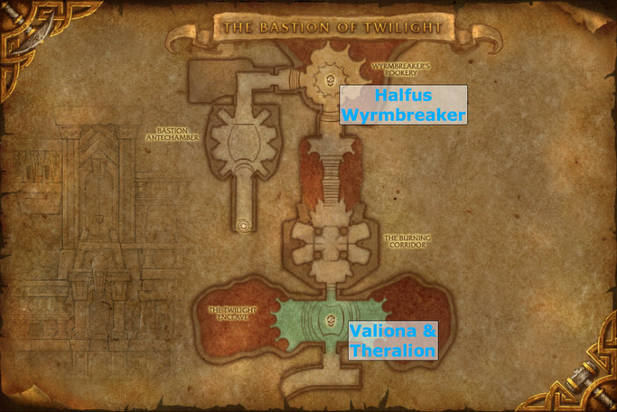 Bastion of Twilight Map - The Twilight Enclave