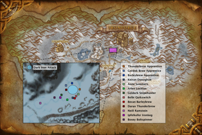 Brewfest Dun Moroh NPC location