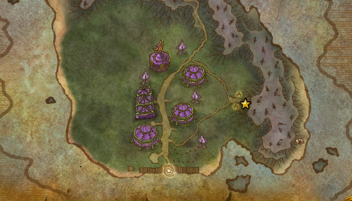 Darkmoon Faire Map - Death Metal Knight