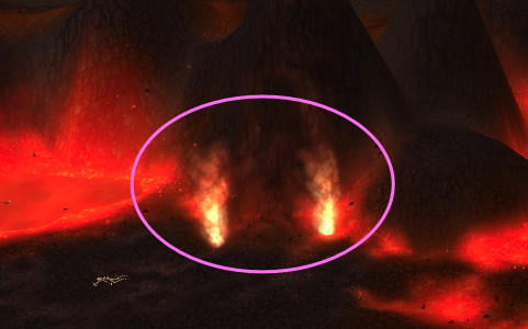Fire Portal at the Molten Front