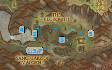 Firelands Invasion Initial Quest line