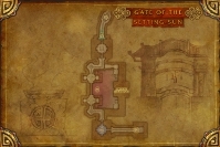 Gate of the Setting Sun - Map