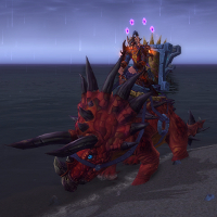 Isle of Thunder - Crimson Primal Direhorn