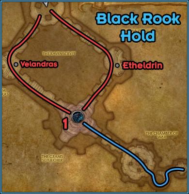 Black Rook Hold - Path Floor 1