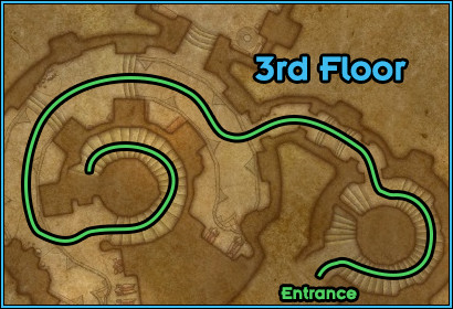 Black Rook Hold - Path Floor 3