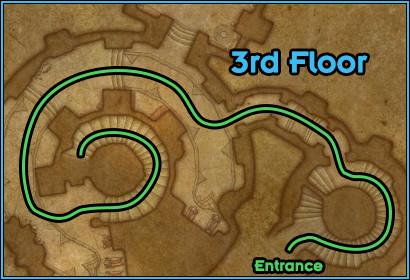 Black Rook Hold - Path Floor 3