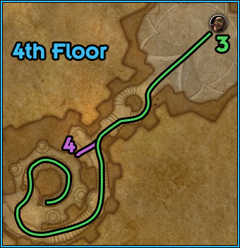 Black Rook Hold - Path Floor 4