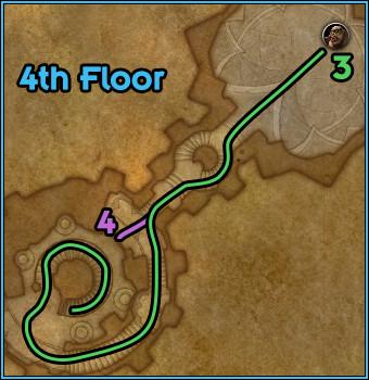 Black Rook Hold - Path Floor 4