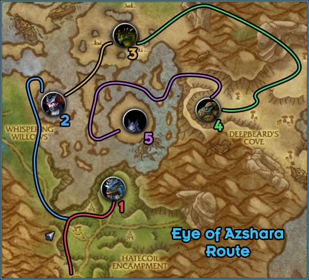 Eye of Azshara - Path