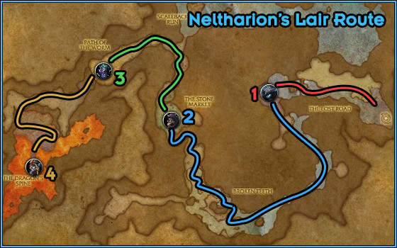 Neltharion's Lair - Path