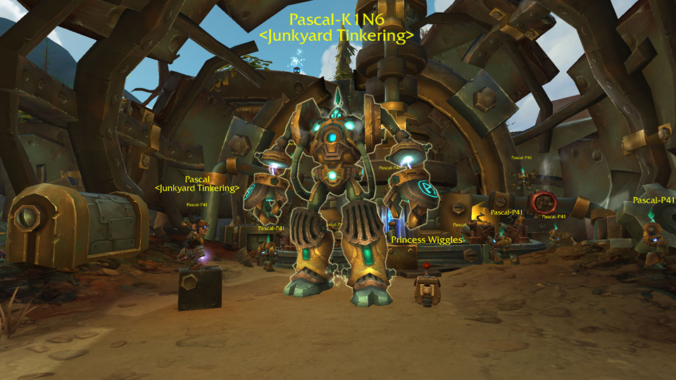 Mechagon Zone Guide and Junkyard Tinkering - World of Warcraft - Icy