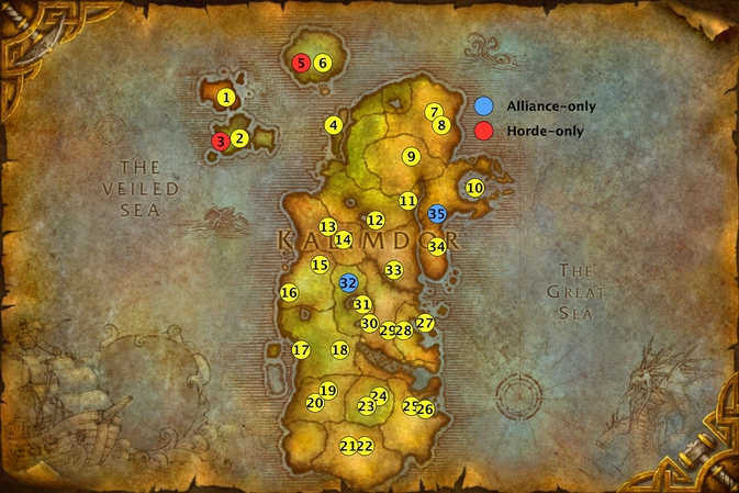 How do you reach Azuremyst Isle as Horde? - World of ...