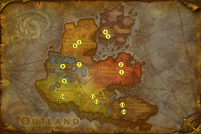 Midsummer Fire Festival - Outland Bonfires