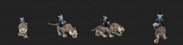 Sandy Nightsaber Mount