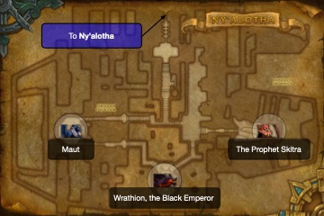 Ny'alotha Map - Annex of Prophecy