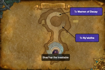 Ny'alotha Map - Maw of Gor'ma