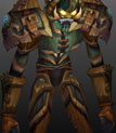 Sanctified Ahn'Kahar Blood Hunter's Battlegear Copy