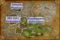 Shado-Pan - Daily Quest Map