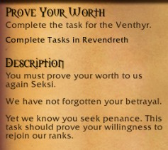 Prove your Worth Quest