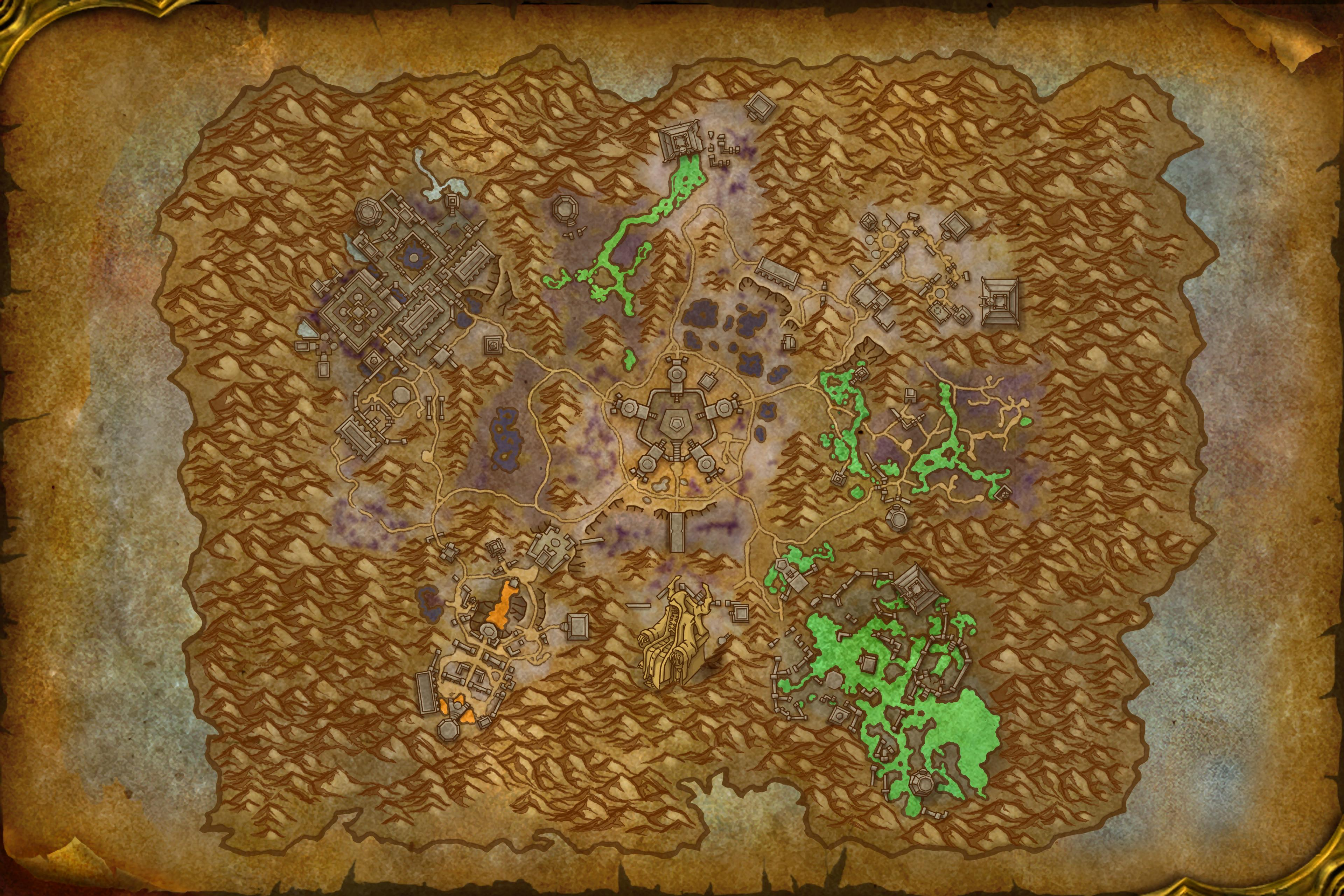 Image of Maldraxxus Map