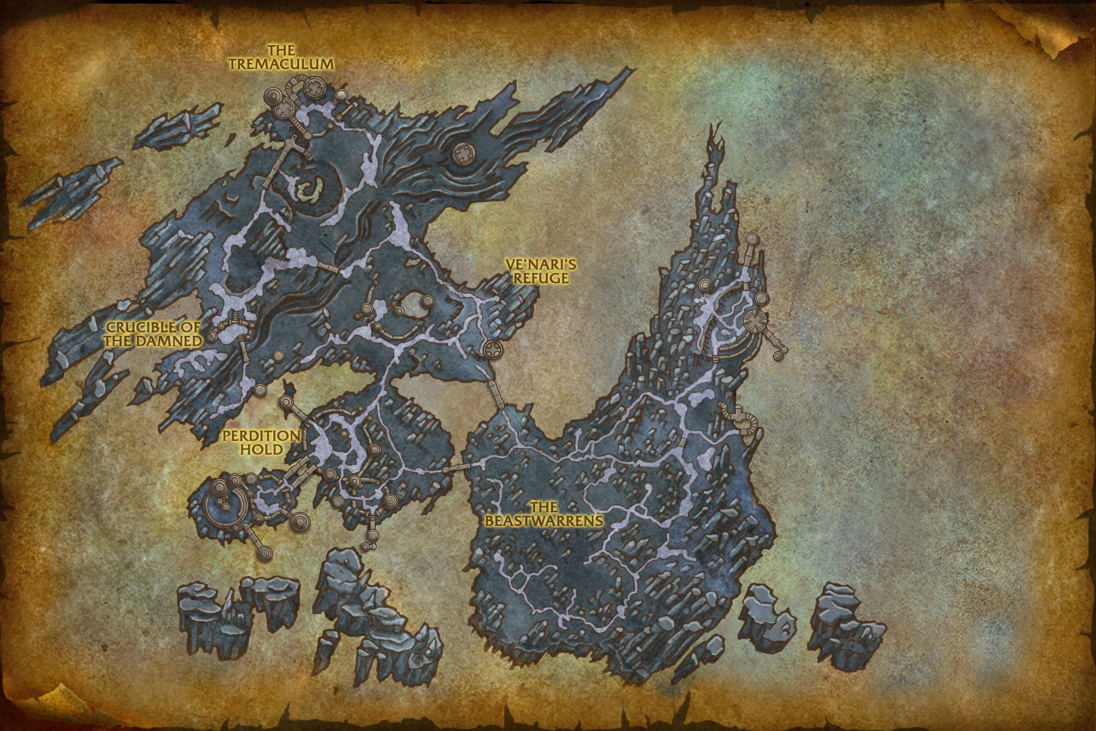 Image of The Maw Map