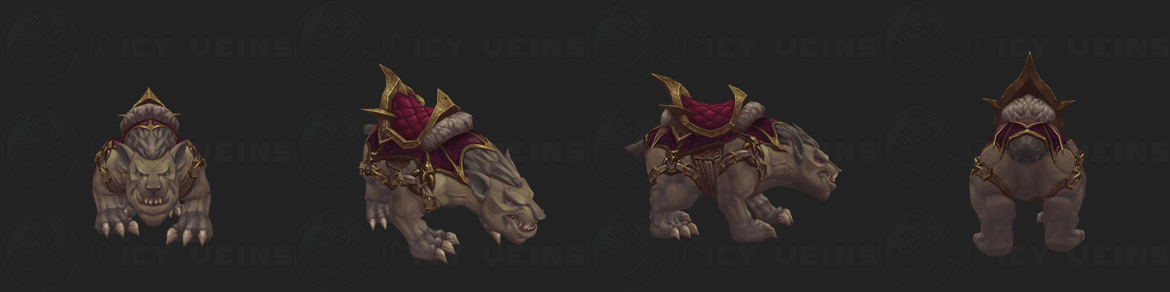 Inquisition Gargon Mount