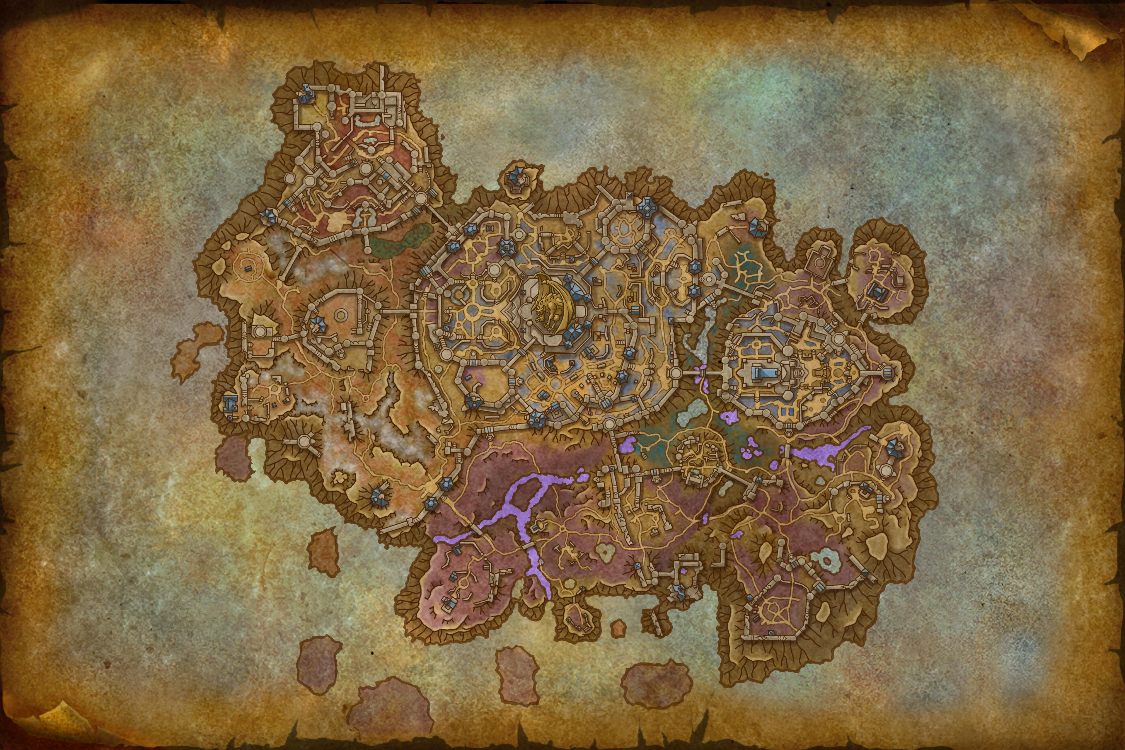 Image of Revendreth Map