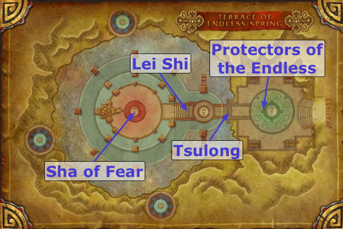 terrace of endless spring raid guides for world of On terrace of endless spring