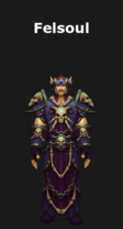 Warlock's Felsoul Armor