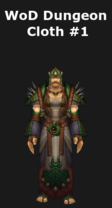 WoD Dungeon Cloth Set #1