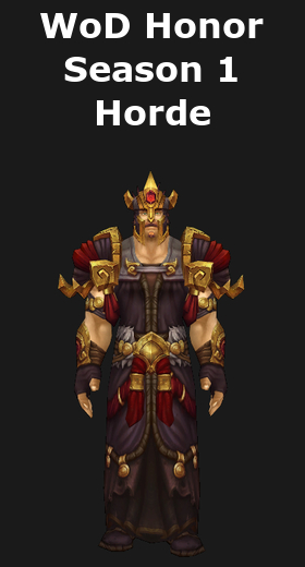 Transmogrification wod honor cloth sets wod 6 2 world of warcraft - When is for honor season 6 ...