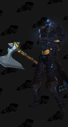 Death Knight Starting Blue Female Set