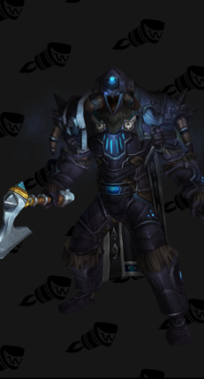 Death Knight Starting Blue Male Set