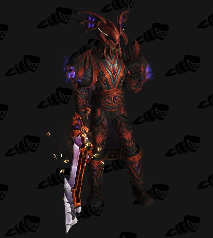 Transmogrification Death Knight PvE Tier 12 Sets (Legion 7 1