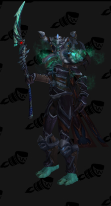 Death Knight PvE Tier 13 Female Set