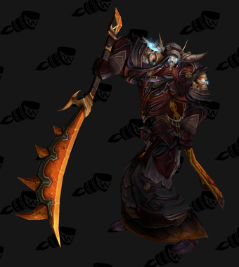 Death Knight PvE Tier 14 Heroic Male Set