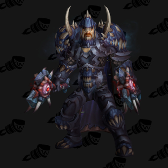 Death Knight PvE Tier 15 Heroic Male Set