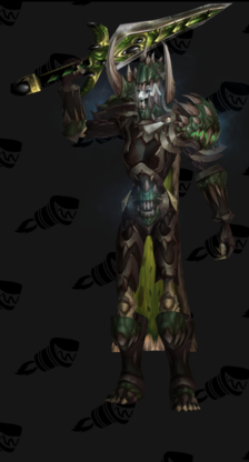 Death Knight PvE Tier 15 Female LFR Set
