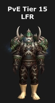 Death Knight PvE Tier 15 LFR Set