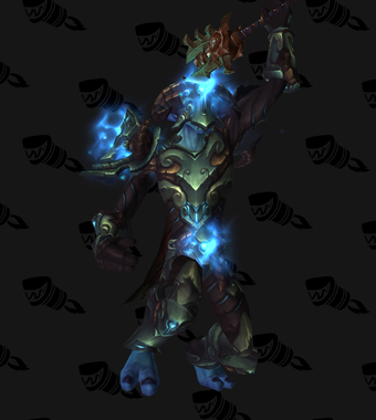 Death Knight PvE Tier 16 Heroic Male Set