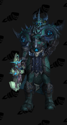 Death Knight PvE Tier 17 Mythic Male Set