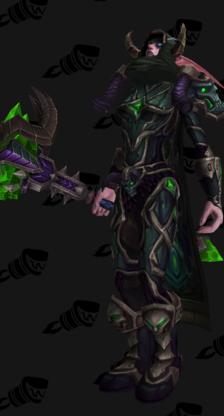 Death Knight PvE Tier 18 Heroic Female Set
