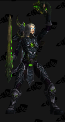 Death Knight PvE Tier 18 Mythic Male Set