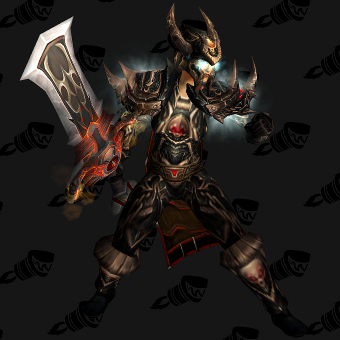 Death Knight Transmog Valorous Scourgeborne Plate PvE Tier 7.5 Female Set
