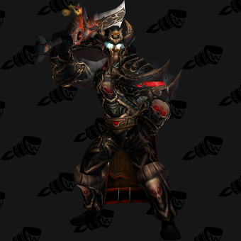 Death Knight Transmog Valorous Scourgeborne Plate PvE Tier 7.5 Male Set